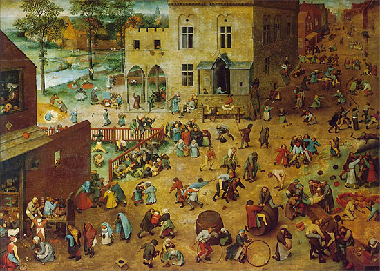 Children's Games, Pieter Bruegel the Elder, 1560