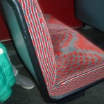 New London bus seats, 2014